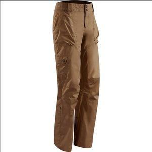 Arc'teryx Womens Hiking Pants size 2 tan
